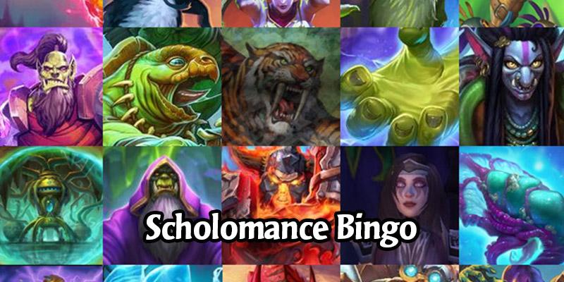 Scholomance Academy - Reveal Season Community Bingo
