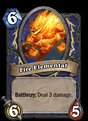 Fire Elemental Card Image