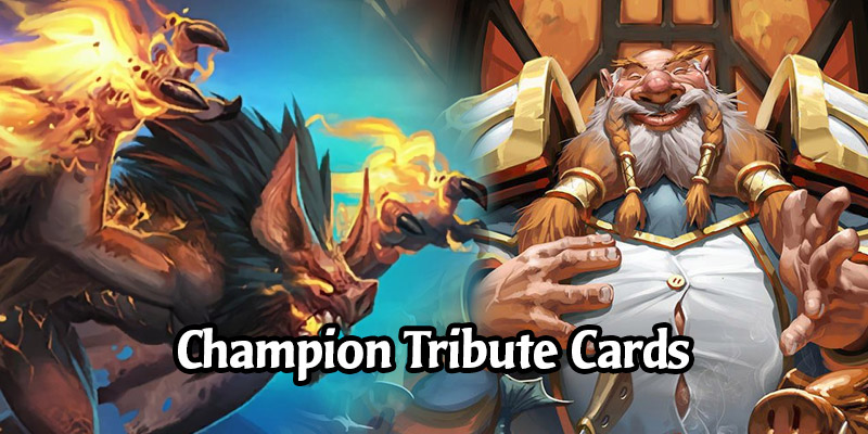 The Collectible Tribute Cards of Hearthstone's World Champions
