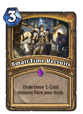 Small-Time Recruits Card Image