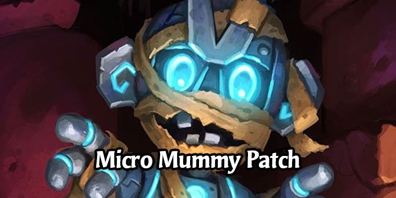 Micro Mummy Bug in Battlegrounds Fixed via Small Client Update, Fixes for Freezing Trap