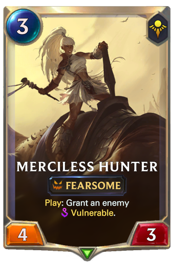 Merciless Hunter Card Image
