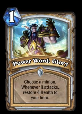 Power Word: Glory Card Image