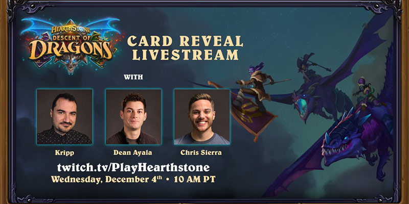 Kripparrian Hosting the Final Card Reveal Stream for Descent of Dragons