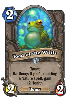 Toad of the Wilds Card Image