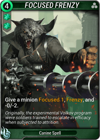 Focused Frenzy Card Image