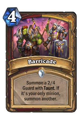 Barricade Card Image