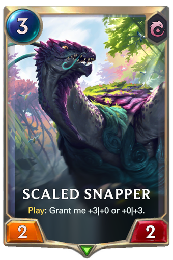 Scaled Snapper Card Image