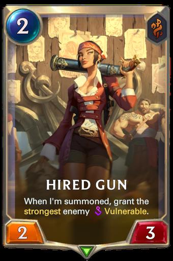 Hired Gun Card Image