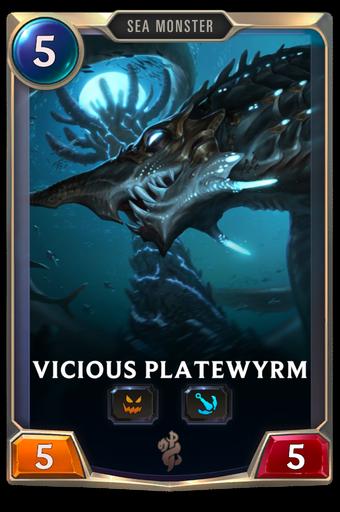 Vicious Platewyrm Card Image