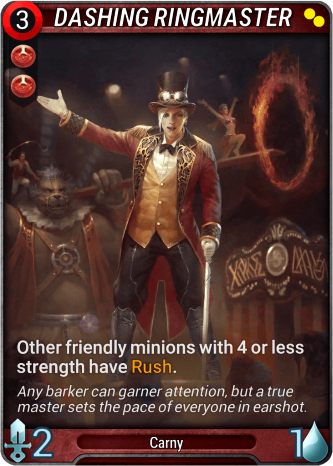 Dashing Ringmaster Card Image
