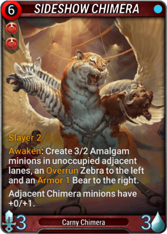 Sideshow Chimera Card Image