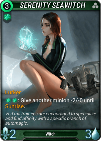 Serenity Seawitch Card Image