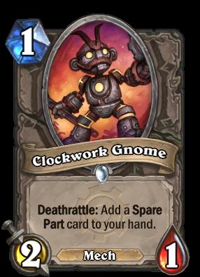 Clockwork Gnome Card Image