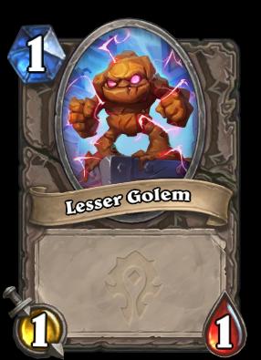 Lesser Golem Card Image