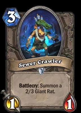Sewer Crawler Card Image