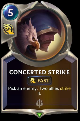 Concerted Strike Card Image