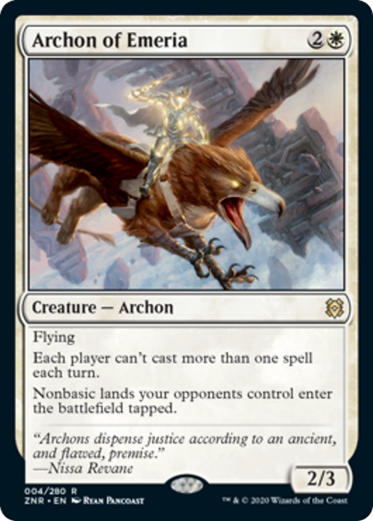 Archon of Emeria Card Image