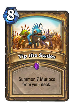 Tip the Scales Card Image