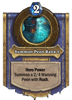 Summon Peon Rank 2 Card Image