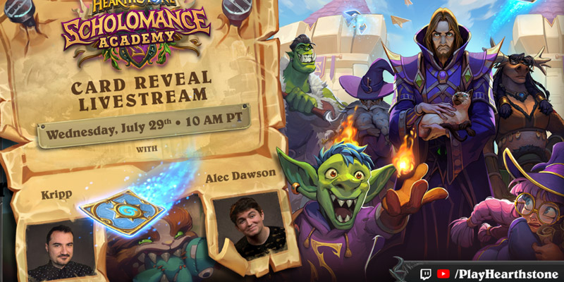 Scholomance Academy Launches August 6, Reveal Stream on July 29 with Kripparrian