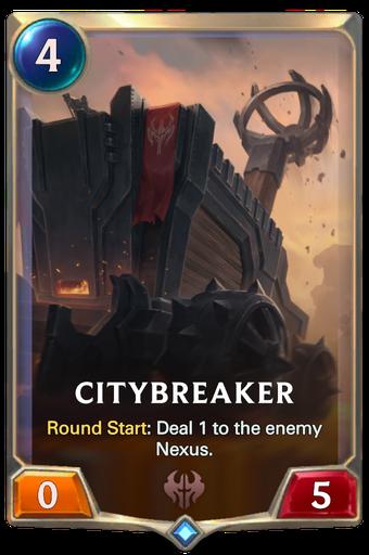 Citybreaker Card Image