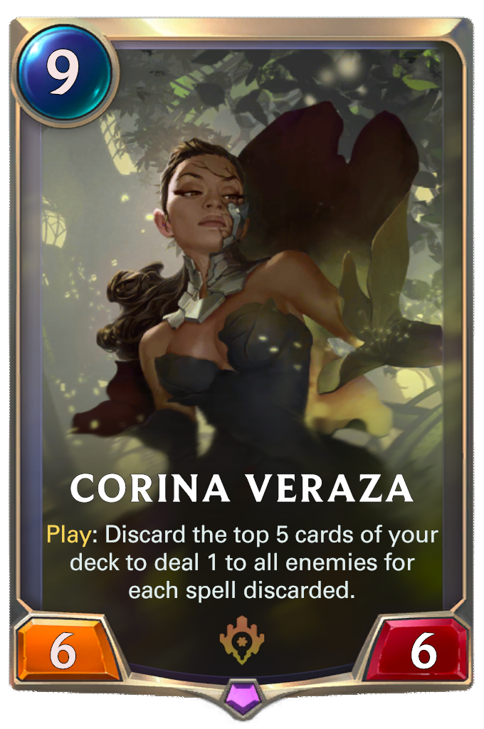 Corina Veraza Card Image