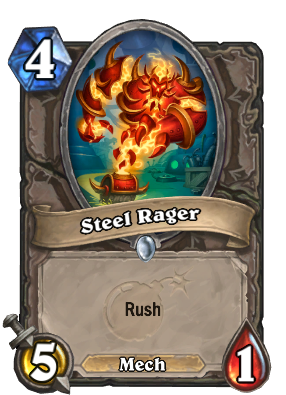 Steel Rager Card Image