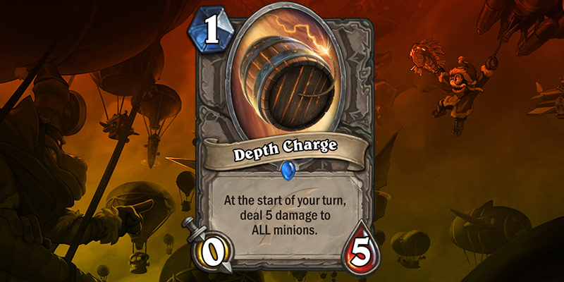 New Card Reveal - Depth Charge