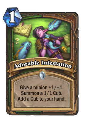 Adorable Infestation Card Image