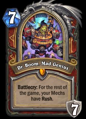 Dr. Boom, Mad Genius Card Image