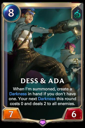 Dess & Ada Card Image