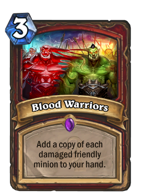 Blood Warriors Card Image