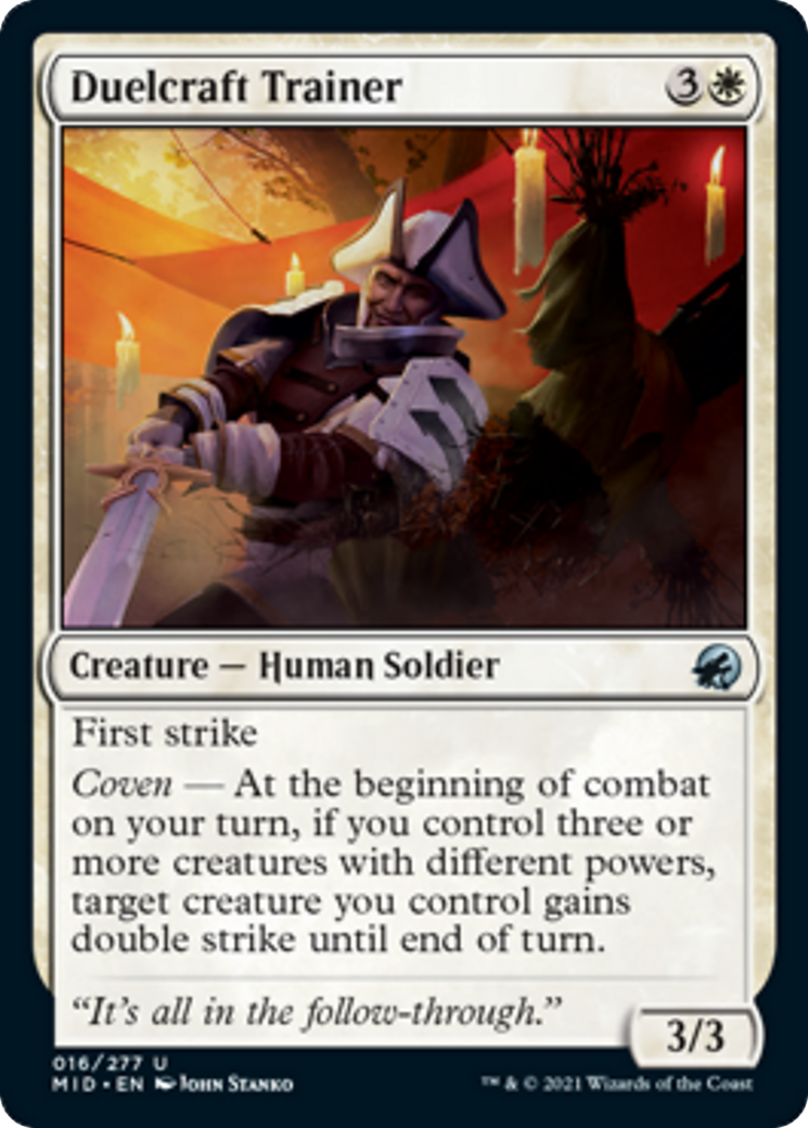 Duelcraft Trainer Card Image