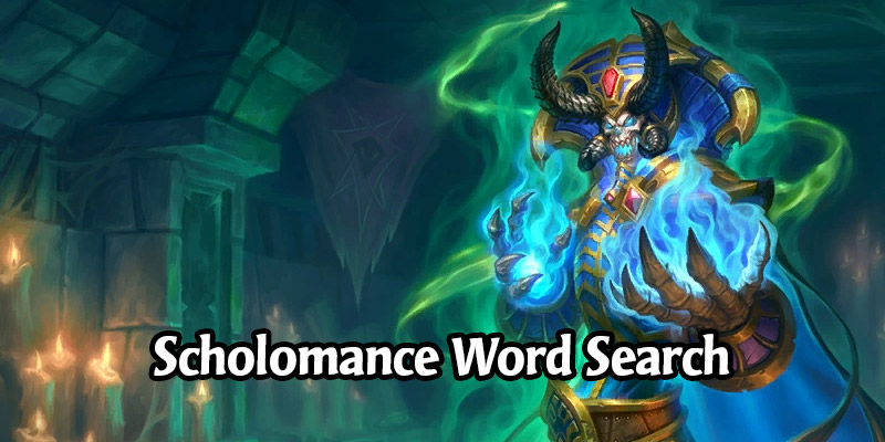 The Scholomance Academy Word Search