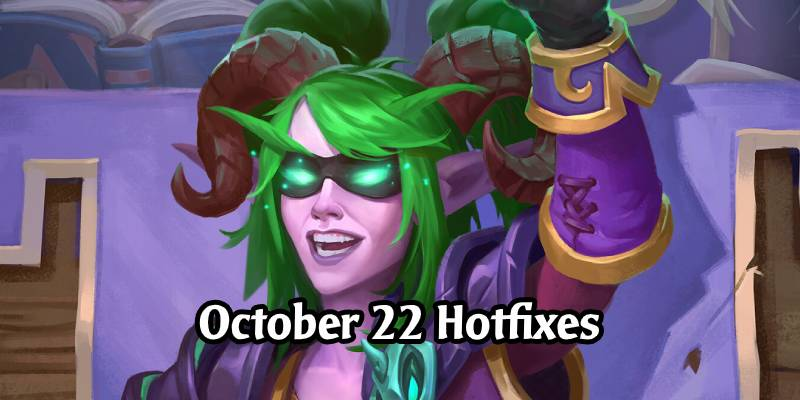 Hearthstone Hotfixes: Battlegrounds Parties Being Reenabled, Star Student Stelina Fixes in Duels