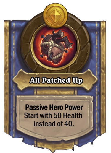 All Patched Up Card Image