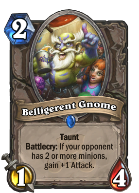 Belligerent Gnome Card Image