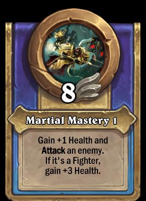 Martial Mastery 1 Card Image
