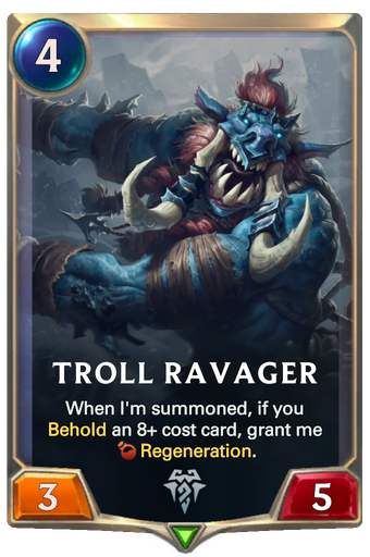 Troll Ravager Card Image