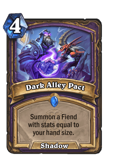 Dark Alley Pact Card Image