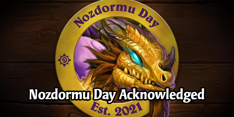 Blizzard Makes it Official - Nozdormu Day is the 15th of Every Month