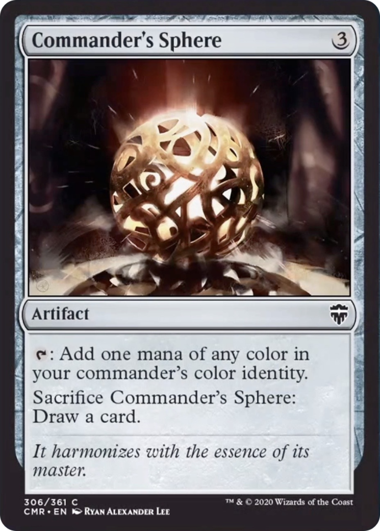 Commander's Sphere Card Image