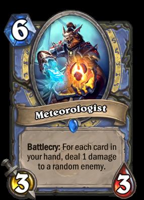 Meteorologist Card Image
