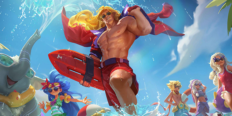 Pool Party Arrives in Legends of Runeterra Patch 2.10.0 With 6 New Champion Skins