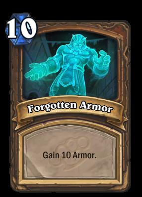 Forgotten Armor Card Image
