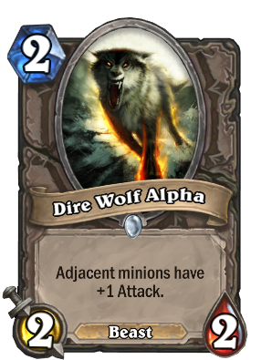 Dire Wolf Alpha Card Image