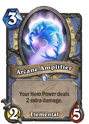 Arcane Amplifier Card Image