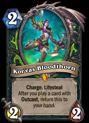 Kor'vas Bloodthorn Card Image