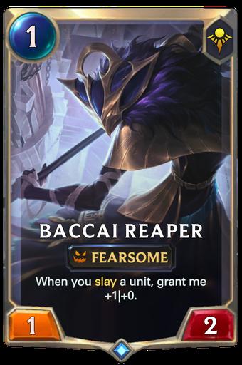 Baccai Reaper Card Image
